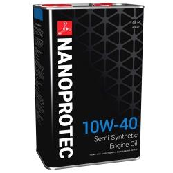 Масло моторное Nanoprotec 10W-40 Engine Oil (4 л)