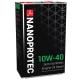 Полусинтетическое дизельное моторное масло Nanoprotec 10W-40 Diesel Engine Oil (4 л)