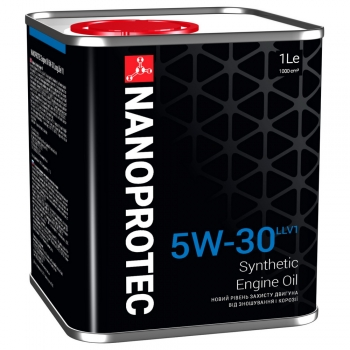 Синтетическое моторное масло Nanoprotec 5W-30 Engine Oil LONGLIFE V (1 л)