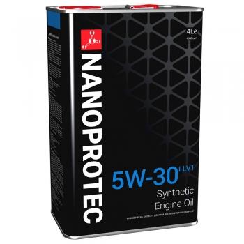 Синтетическое моторное масло Nanoprotec 5W-30 Engine Oil LONGLIFE V (4 л)