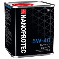 Синтетическое моторное масло Nanoprotec 5W-40 Engine Oil (1 л), 1701, Nanoprotec, Моторное масло