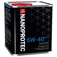 Синтетическое моторное масло Nanoprotec 5W-40 Engine Oil PDI+ (1 л), 3019, Nanoprotec, Моторное масло