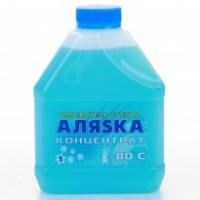 Зимний омыватель стекла (концентрат) АЛЯSКА -80С (1 л), 3834, АЛЯSКА, Жидкость стеклоомывателя