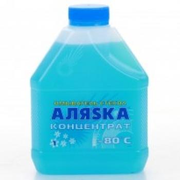 Зимний омыватель стекла (концентрат) АЛЯSКА -80С (1 л)