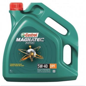 Масло моторное CASTROL 5W-40 MAGNATEC DIESEL DPF (4 л)