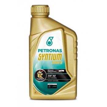 Синтетическое моторное масло Petronas Syntium 3000 E 5W-40 (1 л)