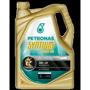 Синтетическое моторное масло Petronas Syntium 5000 FR 5W-20 (5 л)