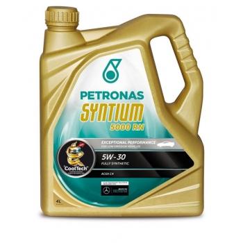 Синтетическое моторное масло Petronas Syntium 5000 RN 5W-30 (4 л)