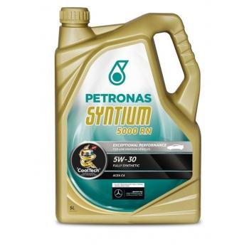 Синтетическое моторное масло Petronas Syntium 5000 RN 5W-30 (5 л)