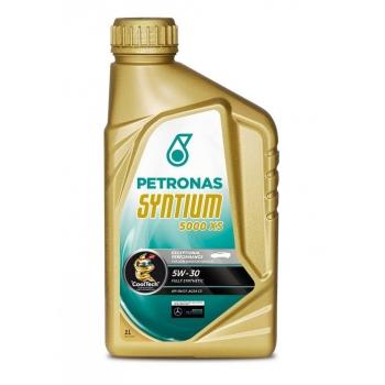 Синтетическое моторное масло Petronas Syntium 5000 XS 5W-30 (1 л)