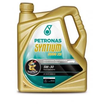 Синтетическое моторное масло Petronas Syntium 5000 XS 5W-30 (4 л)