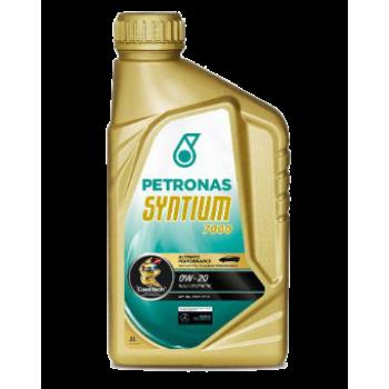 Синтетическое моторное масло Petronas Syntium 7000 0W-20 (1 л)