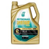 Синтетическое моторное масло Petronas Syntium 7000 0W-40 (5 л), 3998, Petronas, Моторное масло