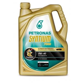 Синтетическое моторное масло Petronas Syntium 7000 0W-40 (5 л)