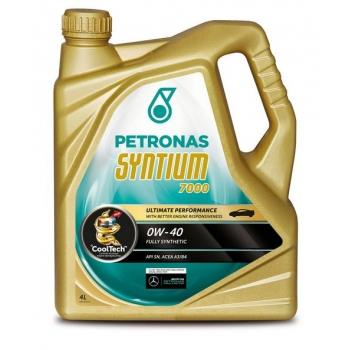 Синтетическое моторное масло Petronas Syntium 7000 0W-40 (4 л)