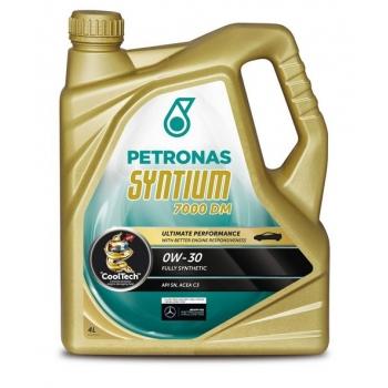 Синтетическое моторное масло Petronas Syntium 7000 DM 0W-30 (4 л)