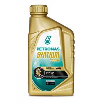 Синтетическое моторное масло Petronas Syntium 7000 E 0W-30 (1 л)
