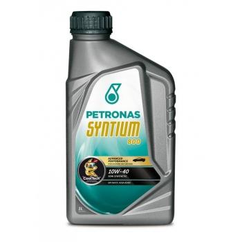 Синтетическое моторное масло Petronas Syntium 800 10W-40 (1 л)