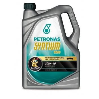 Синтетическое моторное масло Petronas Syntium 800 10W-40 (5 л)