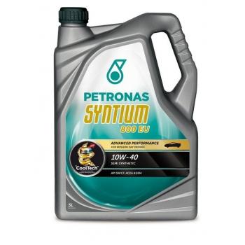 Синтетическое моторное масло Petronas Syntium 800 EU 10W-40 (5 л)