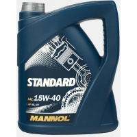 Масло моторное Mannol 15W-40 Standard (4 л), 1801, Mannol, Моторное масло