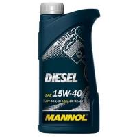 Масло моторное Mannol 15W-40 Diesel (1 л), 1797, Mannol, Моторное масло