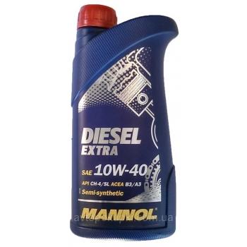 Масло моторное Mannol 10W-40 Diesel Extra (1 л)