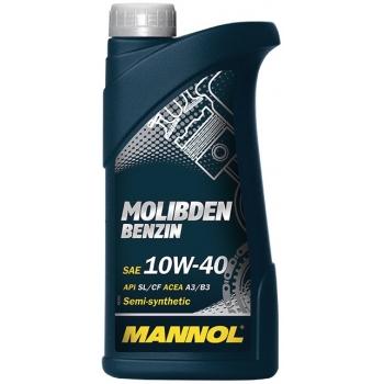 Масло моторное Mannol 10W-40 Molibden Benzin (1 л)